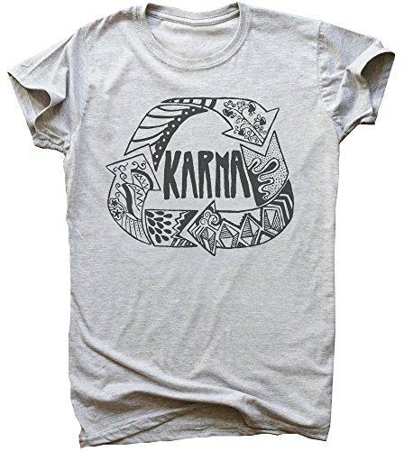Karma Finds You Men's T-Shirt Medium
