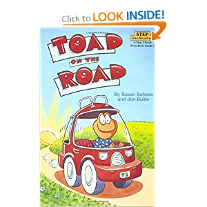 Toad on the Road (Step-Into-Reading, Step 2) by Susan Schade and Jon Buller