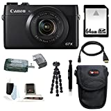 Canon PowerShot G7 X Digital Camera with 64GB Deluxe Accessory Kit