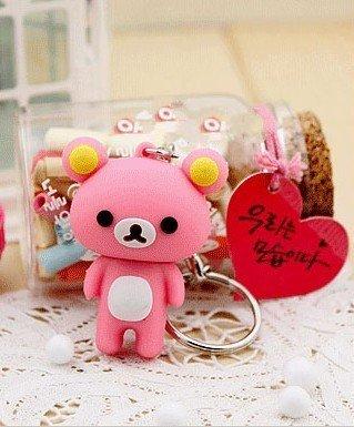 4GB New Cute Pink Rilakkuma Bear Style USB flash