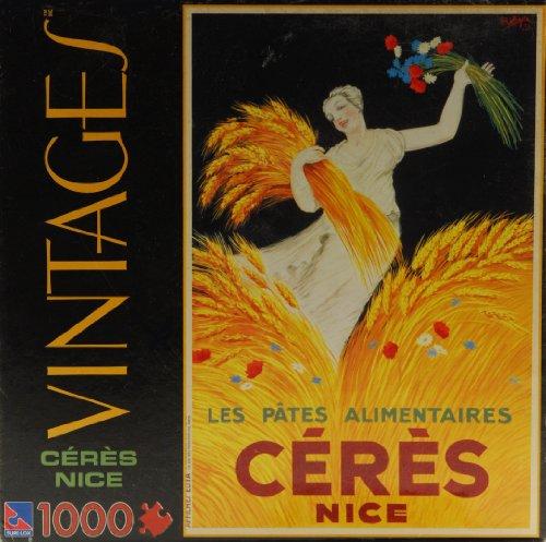 1000 Piece Vintages Jigsaw Puzzle - Les Pates Alimentaires Ceres Nice