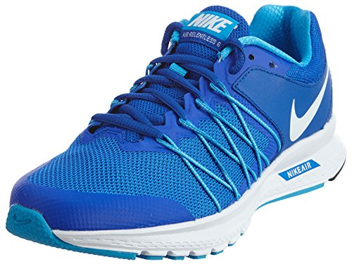 New Nike Women's Air Relentless 6 Running Shoe Blue/White 7 (Nike Shoes Blue compare prices)