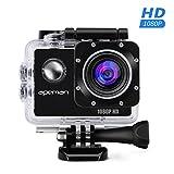 APEMAN Sports Action Camera 12MP Full HD 1080p Action Cam Wasserdichte...