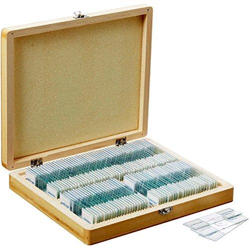 amscope-ps100e-100-homeschool-biologia-vetrini-preparati-microscopio-set-e