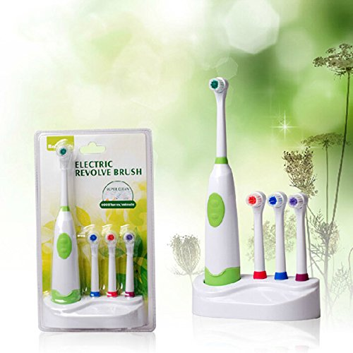 Rotation Type Electric Toothbrush 4 Color Waterproof Type