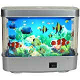 Aquarium Lamp Motion Fish Night Light