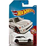 Hot Wheels 2017 Then And Now '90 Honda Civic EF 330/365, White (Color: White)