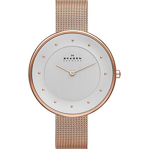 Skagen Women's SKW2142 Gitte Rose Gold Mesh Watch
