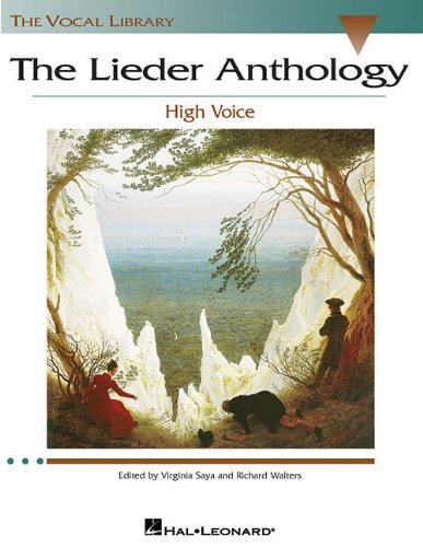 The Lieder Anthology High Voce Ed. V Saya and R. Walters,...