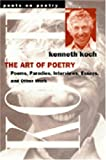The Art of Poetry (Poets on Poetry)