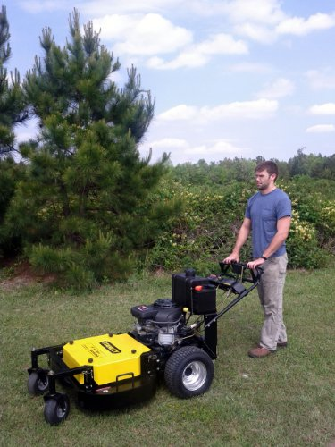 STANLEY 36 inch Commercial Duty Hydro Walk Behind Finish Cut Lawn Mower w/a HONDA GXV 530  engine and Floating Deck. Not for sale in California picture