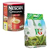 Nescafe 750g Original + PG Tips 1150 Tea Bags MULTI-PACK SPECIAL