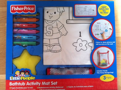 Fisher Price Bathtub Activity Mat Set