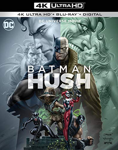 4K Blu-ray : Batman: Hush (2 Discos)