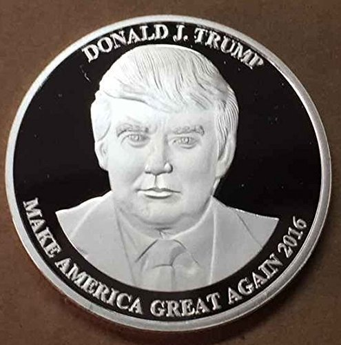 Trump Tax Metal: Aizics Mint President Donald Trump 2016 Silver Plated