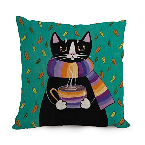 Artistdecor 12 X 20 Inches / 30 By 50 Cm Cat Pillowcover,double Sides Is Fit For Father,valentine,study Room,boys,office,couch