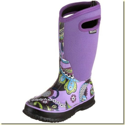 559d380ff491 Childrens Toddler Youth Bogs Classic Mid Waterproof Winter Boots ... Bogs  Classic Mid Mossy Oak Boot (Toddler Little Kid Big ... paisley.
