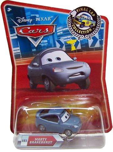 Disney / Pixar CARS Movie Exclusive 155 Die Cast Car Final Lap Series Marty Brakeburst
