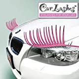 The Official Car Lashes(TM) and Eyeliner BUNDLE - Authorized Car Lashes(TM) Seller - No Knockoffs - Pink/Pink Crystal