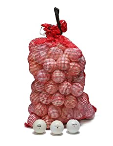 Shag Practice 96 Ball Bag with Assorted Brands and Models - Used by Nitro