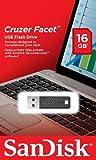 SanDisk SDCZ55-016G-B35Z 16GB Cruzer Facet USB 2.0 Drive - Black