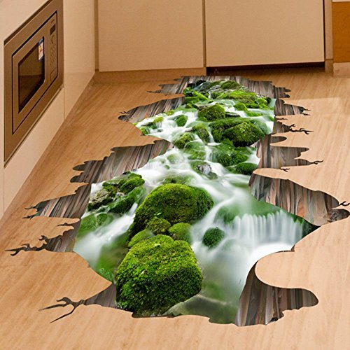 fangeplustm-3d-creek-floor-sticker-hole-view-diy-removable-art-mural-vinyl-waterproof-wall-stickers-