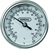 General Tools & Instruments T300-36 Soil Thermometer Dial with 36 Inch Probe