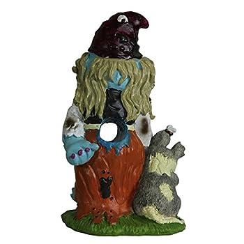 Zombie Gnome Girl Garden Statue Sculpture Halloween Decor