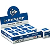 12x Dunlop Squash Balls (DOUBLE YELLOW , YELLOW , RED & BLUE)