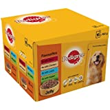 Pedigree Pouch Favourites in Jelly 16 x 150 g (Pack of 2, Total 32 Pouches)