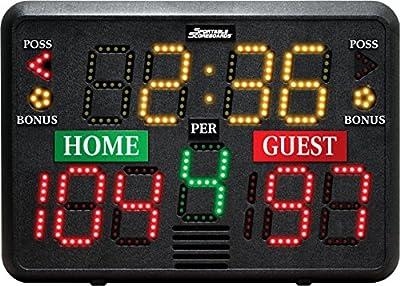 Sportable Scoreboards Multisport Indoor Tabletop Scoreboard