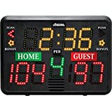 "Sportable Scoreboards Multisport Indoor Tabletop Scoreboard, 22"" X 15"" X 8""/"