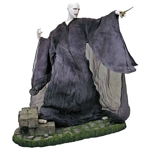 Picture of Gentle Giant Harry Potter Gallery Collection Voldemort Statue Figure (B00119V5US) (Harry Potter Action Figures)