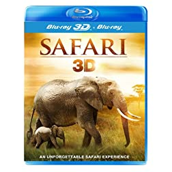 Safari 3D - REGION FREE - UK Import [Blu-ray 3D + Blu-ray]