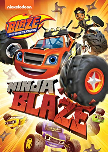 DVD : Blaze & Monster Machines: Ninja Blaze
