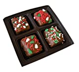 Chocolate Dipped Rice Krispie® Treat Gift Box for Christmas