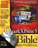 img - for QuarkXPress 5 Bible book / textbook / text book