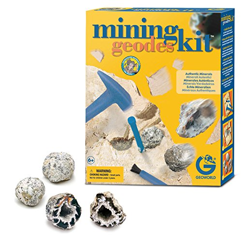 Geoworld Mining Kit - Geodes - 1