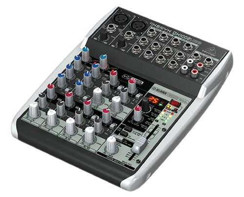 Behringer Qx1002Usb 10-Channel Mixer front-578144