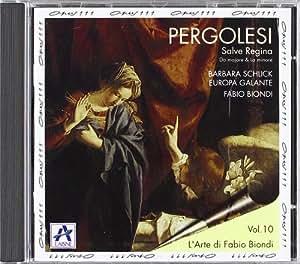Pergolese/Leo: Salve Regina