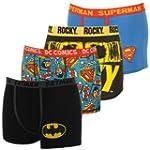 Herren Lizenz Boxershorts Batman Supe...