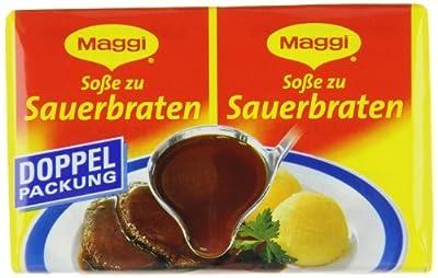 Maggi Delikatess Doppelpack Soße zu Sauerbraten, 18er Pack (18 x 500 ml Karton) von Maggi bei Gewürze Shop