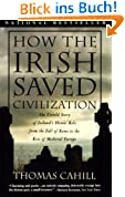 How the Irish Saved Civilization: The Untold Story of Ireland's Heroic Role from the Fall of Rome to the Rise of Medieval Europe (Hinges of History)