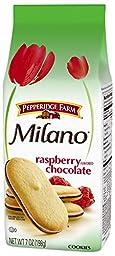 Pepperidge Farm Raspberry Milano Cookies, 7 Ounce (Pack of 24)