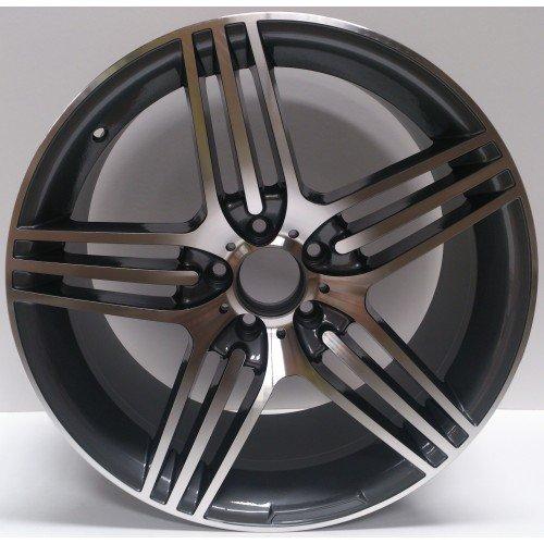 2-x-3-roues-en-alliage-Mercedes-Benz-SL-63-amg7-style-Gris-19-x-95-polonais-greggson-gg-106-cc