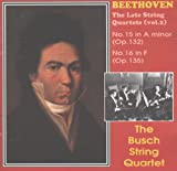 The Busch string quartet Beethoven - Late String Quartets - Volume 2 //the Busch string quartet