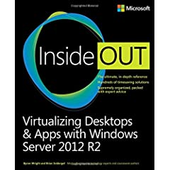 Virtualizing Desktops and Apps with Windows Server 2012 R2 Inside Out from Microsoft Press