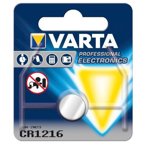 Varta Piles Électroniques CR 1216