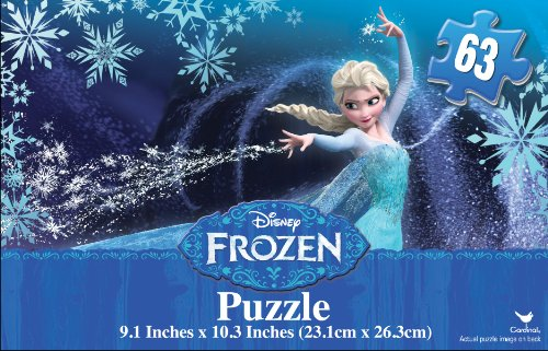 Frozen 63 Pc Promo Puzzle in Gift Box - 1