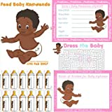 Baby Shower Host Afro caribbean 4 Games Pack (8 People)